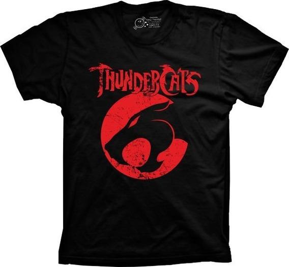 Camiseta Masculina Thundercats Tamanhos Especiais Cores