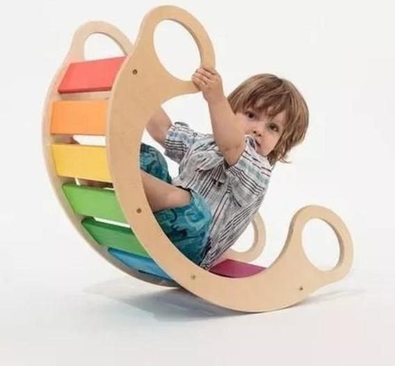 Hamaca Balancin Montessori Fibrofacil Para Pintar