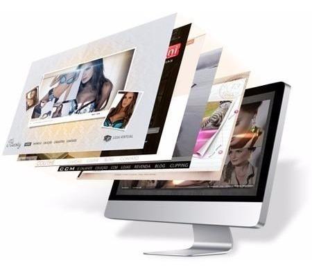 Criação De Sites Até 3 Paginas Ou Landpage Clean E Moderno