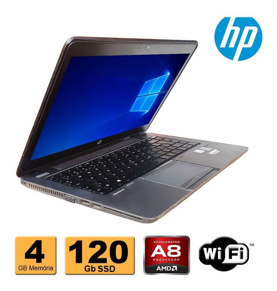 Notebook Hp 745 Amd 7150 4gb Ddr3 Ssd 120gb Refurbished
