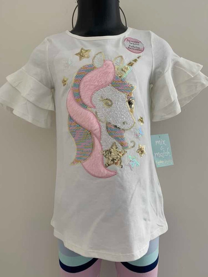 Playera Para Niña Mix And Match