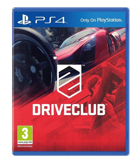 Driveclub Ps4 Playstation Novo Lacrado Nota Fiscal