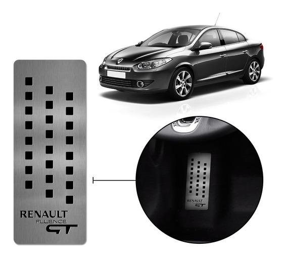 Descanso De Pé Aço Inox Premium Renault Fluence Gt