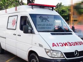 Sprinter Ambulância Semi Uti -09/09- Teto Baixo, Pneus Novos