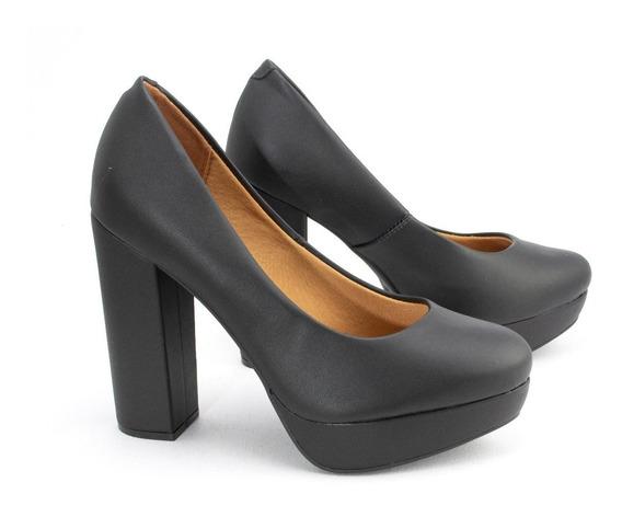 Zapatos Mujer Plataforma Taco Palo Massimo Chiesa By Vizzano