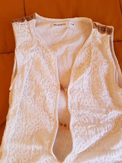 Vestido Blanco Largo De La Ostia