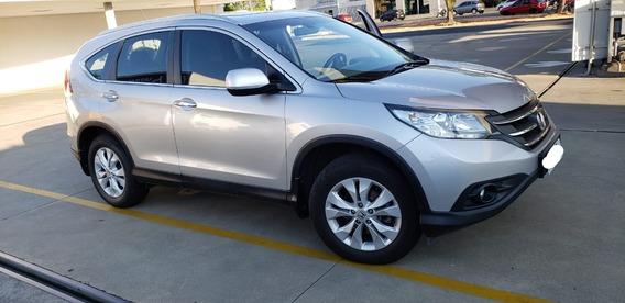 Honda Cr-v 2.0 Exl 4x2 Flex Aut. 5p - Único Dono, Impecável