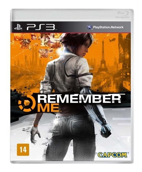 Jogo Remember Me Playstation 3 Ps3 Novo Lacrado