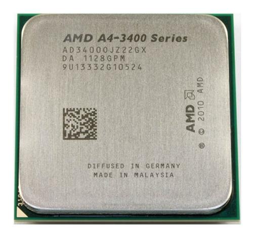 Imagen 1 de 4 de Procesador Amd Apu A4 3400 2 Nucleos Socket Fm1 - Oem