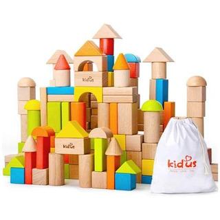Kaja Classic Color De Madera Y Bloques De Construcción!
