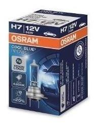 Bombillo Osram Cool Blue Intense H7 12v 55w  4200k