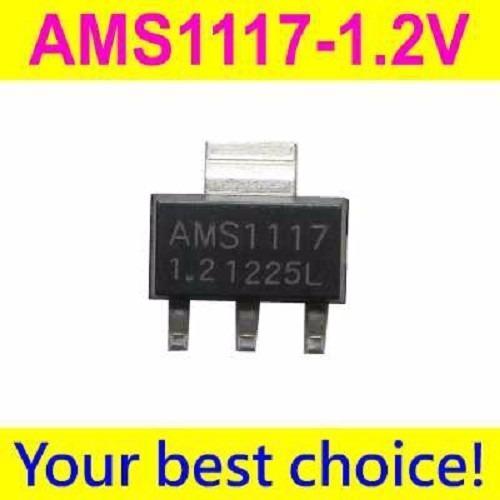 Imagen 1 de 2 de Ams1117 1.2v Lm 1117 Regulador Tension Original Htc X50un