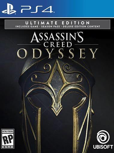 Assassins Creed Odyssey Ultimate Psn Ps4 Code 1