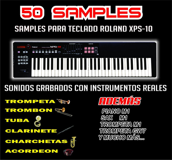 50 Samples Para Teclado Roland Xps-10