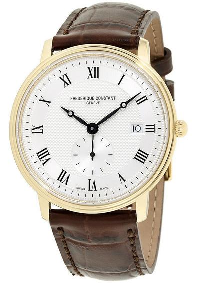 Relógio Masculino Frédérique Constant Fc245m5s5 Couro