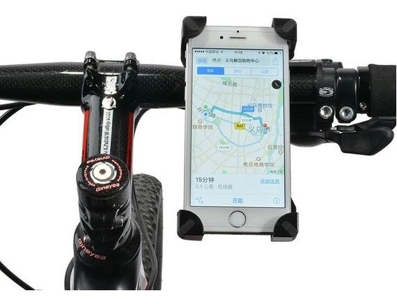 Kit 5 Suporte De Bicicleta P/ Celular E Gps Tomate Mtg-017