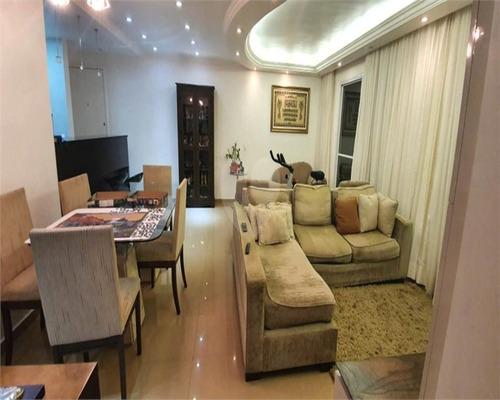 Imagem 1 de 18 de Venda Apartamento 3 Dormitórios 2 Suítes - Mv02 - 69374356