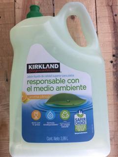 Jabón Líquido Para Trastes Kirkland 3.99 L Citrico Se