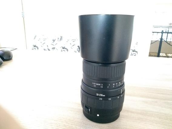 Lente Sigma 70 - 210 Mm - Para Cameras Analogicas -f4-5.6