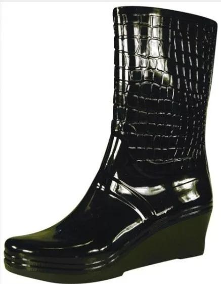 Botas De Lluvia De Mujer Con Taco (proforce 6350)