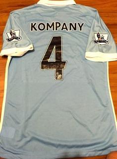 Camisa Manchester City Autografada 2015/16 - Queima Estoque