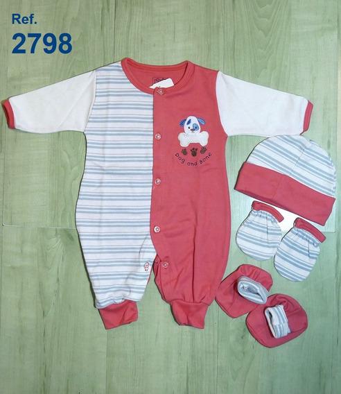 Mono Con Zapatos, Gorro Y Manoplas Ropa Para Bebé R2798