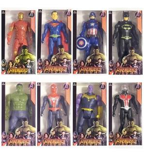 Muñecos Avengers Oferta Ironman Spiderman Hulk Capitan A Etc