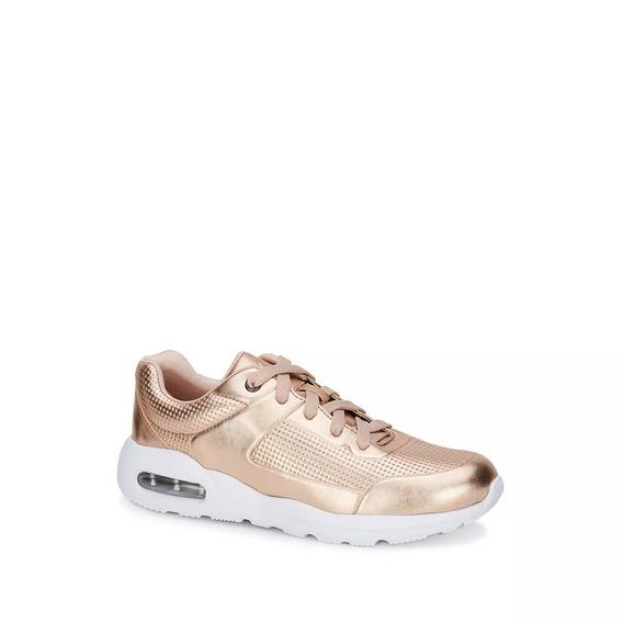 Estilo Metalico Sneakers Mujer Deportivo Glam Lovers 2621029