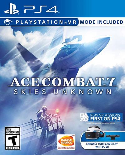 Imagen 1 de 5 de Ace Combat 7: Skies Unknown -ps4- Fisico/ Mipowerdestiny