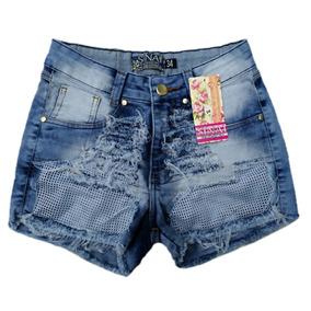 Roupas Femininas Atacado Kit 05 Shorts Jeans Cós Médio 36/44
