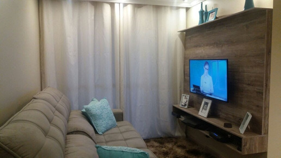 Apartamento Seminovo Mobiliado Na Vila Augusta - Guarulhos