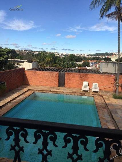Sobrado Com 4 Dormitórios À Venda, 540 M² Por R$ 1.400.000 - Jardim Bela Vista - Mogi Guaçu/sp - So0100