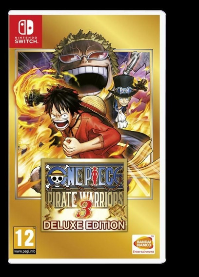 One Piece Pirate Warriors 3 Deluxe Edition Switch Digital