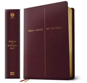 Bíblia De Estudo Nvt- Vinho