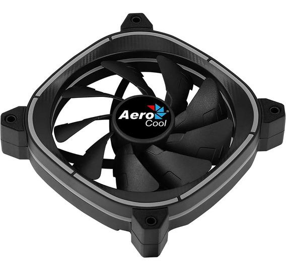 Cooler Fan Aerocool Astro 12 Argb 120mm Para Gabinete