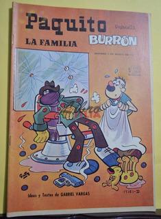Comic No. 17151 De Paquito Presenta La Familia Burrón (1973)