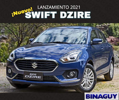 Suzuki Dzire 1.2 Gl/ Full / U$s 15.990 / Permuto Y Financio!