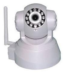 Camera Ip Wireless Visão Noturna P2p Sem Fio Alarme Ip02
