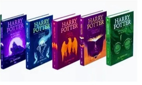 Kit Livros Harry Potter Capa Dura - Volume 3 Ao 7 - Lacrados
