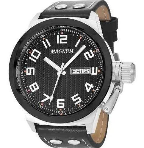 Relogio Social Masculino Magnum Ma32765t Garantia De 2 Anos