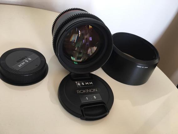 Rokinon 85mm 1.5 | Ef Canon