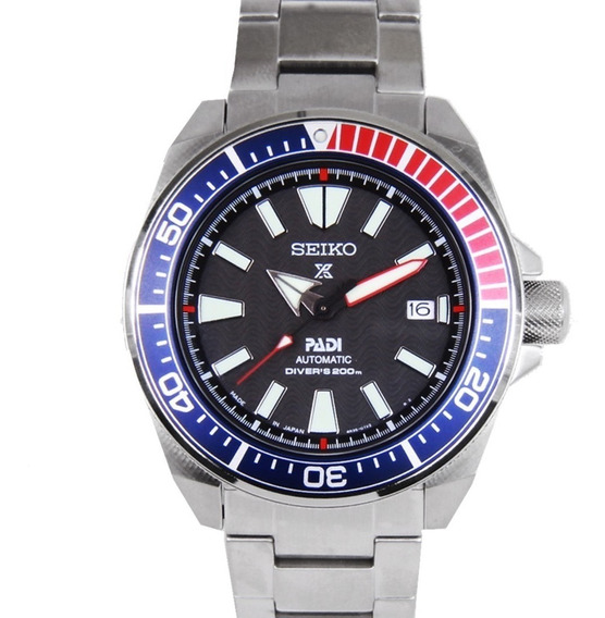 Relógio Seiko Srpb99 Samurai Dive Automatico Padi Special Ed