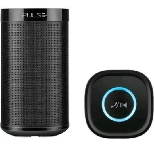 Caixa De Som Bluetooth Auxiliar Multilaser Pulse Sp204 10w Rms