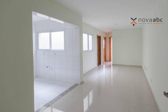 Apartamento Com 2 Dormitórios À Venda, 50 M² Por R$ 265.000 - Vila Camilópolis - Santo André/sp - Ap0967