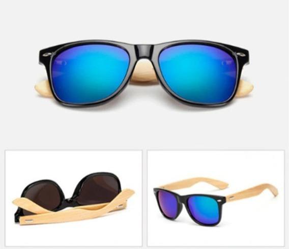 Óculos De Sol Bamboo - Hastes Em Bambu