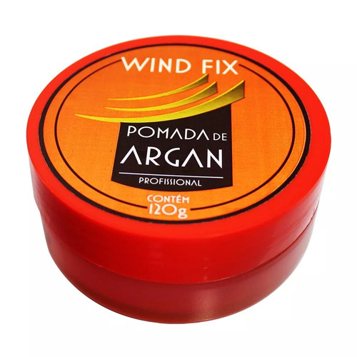 Imagem 1 de 3 de Pomada Modeladora De Argan Sem Álcool 120g Wind Fix