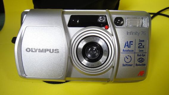 Máquina Fotografica Olympus Infinity 76