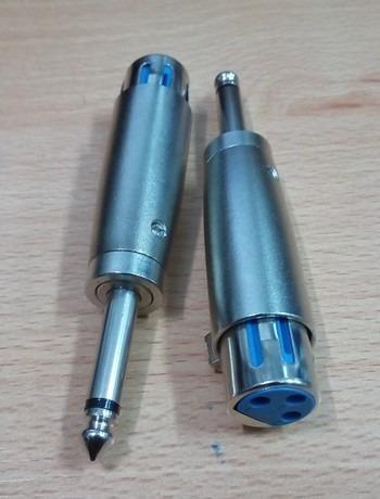 Adaptador Convertidor De Canon Hembra A Plug 1/4 Mono