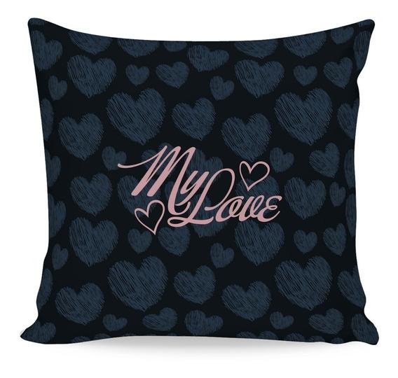 Almofada Decorativa Dia Dos Namorados Isoprene Promoção