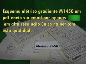 Esquema Gradiente M1450 M 1450 Modelo 1450 Em Pdf